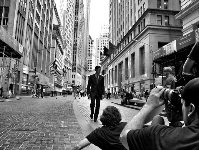 CC BY 2.0: Gerald Rich. Wall St fashion shoot. Source:  https://www.flickr.com/photos/geraldrich/7314431236